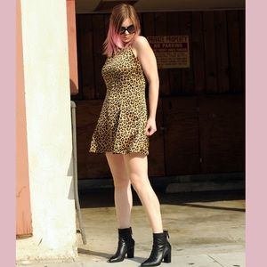 By the way leopard dress revolve clothing